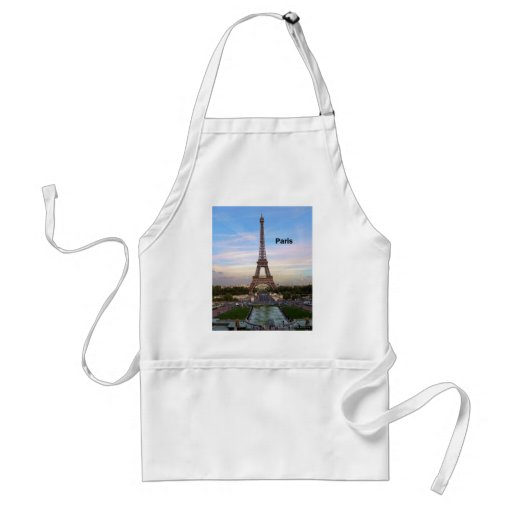 Torre Eiffel de Francia París (por St.K) Delantal
