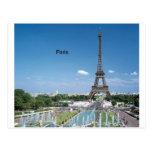 Torre Eiffel de Francia París (por St.K) Tarjetas Postales