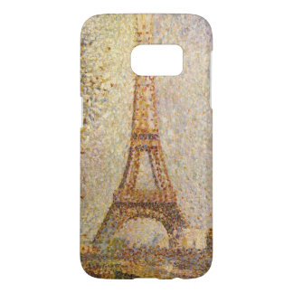 Torre Eiffel de Jorte Seurat, bella arte del Fundas Samsung Galaxy S7
