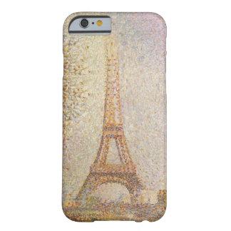 Torre Eiffel de Jorte Seurat Funda De iPhone 6 Barely There