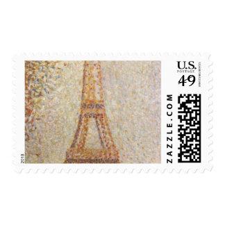 Torre Eiffel de Jorte Seurat Sello