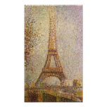 Torre Eiffel de Jorte Seurat-The Impresiones