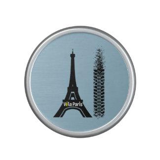 Torre Eiffel de la bici de Velo París Altavoz