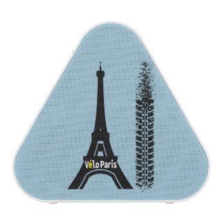 Torre Eiffel de la bici de Velo París Altavoz Bluetooth