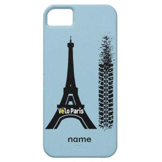 Torre Eiffel de la bici de Velo París iPhone 5 Carcasa