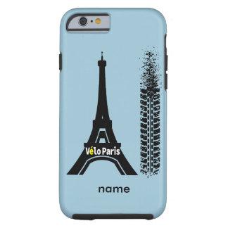 Torre Eiffel de la bici de Velo París Funda Para iPhone 6 Tough