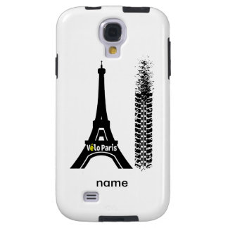 Torre Eiffel de la bici de Velo París Funda Galaxy S4