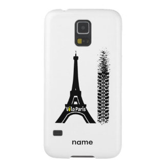 Torre Eiffel de la bici de Velo París Funda Galaxy S5