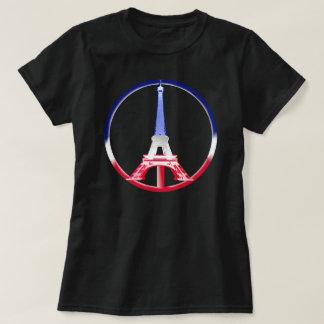 Torre Eiffel de la paz de París Remeras