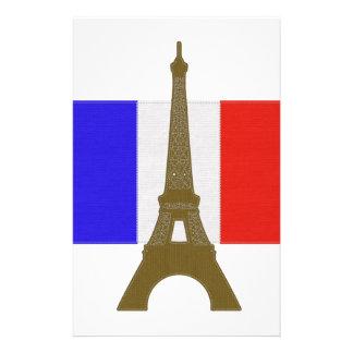 Torre Eiffel de la puntada Papelería