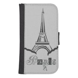 Torre Eiffel de París Billetera Para Teléfono