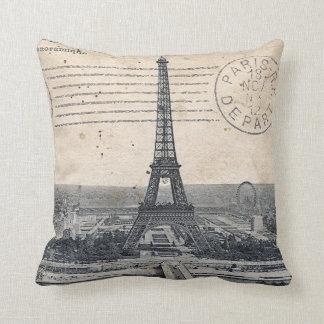 Torre Eiffel de París Cojín Decorativo
