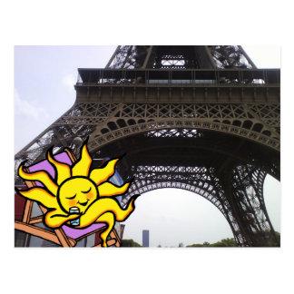 """Torre Eiffel de """"París"""" de las POSTALES"""