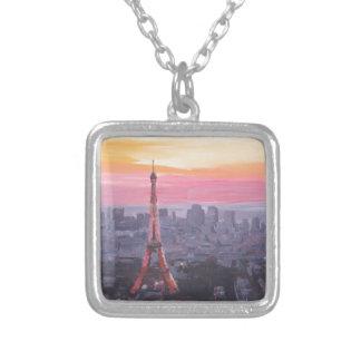 Torre Eiffel de París en la oscuridad Joyerías