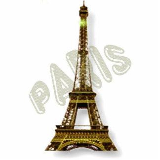 Torre Eiffel de París Fotoescultura Vertical