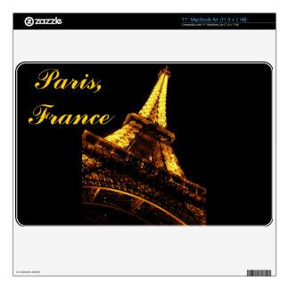Torre Eiffel de París, Francia MacBook Skins