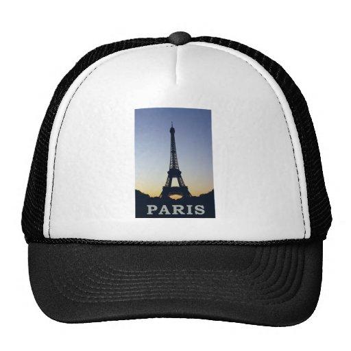 Torre Eiffel de París Gorras De Camionero