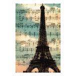 Torre Eiffel de París Papeleria De Diseño