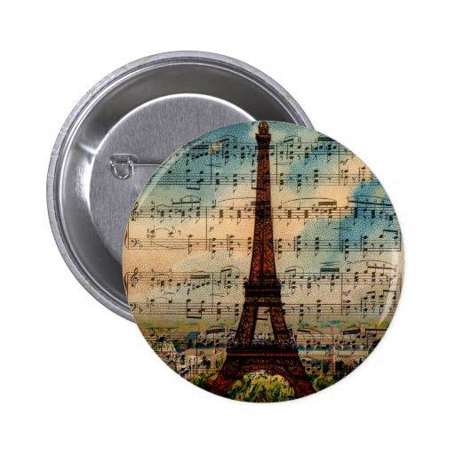 Torre Eiffel de París Pins
