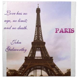 ¡Torre Eiffel de París! Servilletas Imprimidas