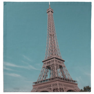 Torre Eiffel de París Servilleta