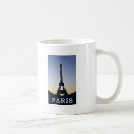 Torre Eiffel de París Taza