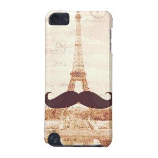 Torre Eiffel del bigote Carcasa Para iPod Touch 5G