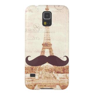 Torre Eiffel del bigote Funda Galaxy S5