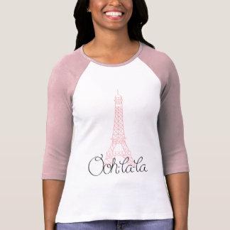 Torre Eiffel del la del la de Ooh Playera