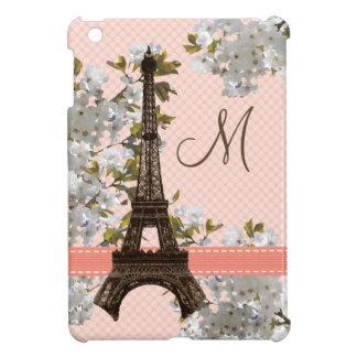 Torre Eiffel del monograma iPad Mini Carcasa