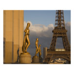 Torre Eiffel del Palais de Chaillot, París, Impresiones