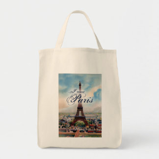 Torre Eiffel del vintage Bolsa