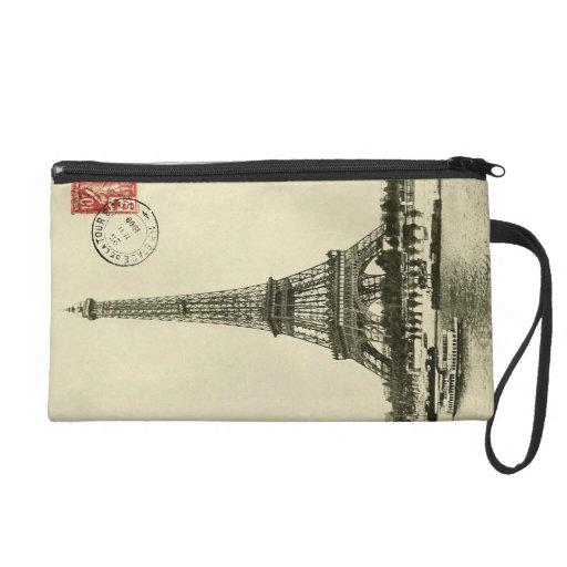 Torre Eiffel del vintage en París Francia