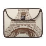 Torre Eiffel del vintage Funda Para Macbooks