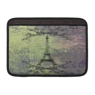 Torre Eiffel del vintage Fundas Macbook Air