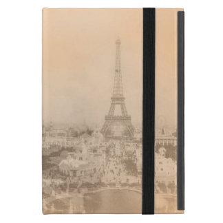 Torre Eiffel del vintage iPad Mini Funda
