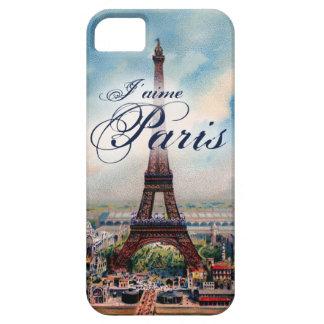 Torre Eiffel del vintage iPhone 5 Funda