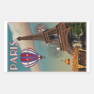Torre Eiffel del vintage Pegatina