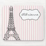 Torre Eiffel elegante Alfombrilla De Raton