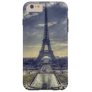 Torre Eiffel elegante elegante París Francia del Funda Para iPhone 6 Plus Tough