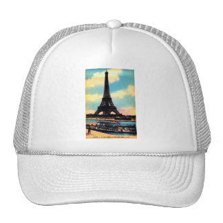 Torre Eiffel elegante francesa antigua de París Gorro De Camionero