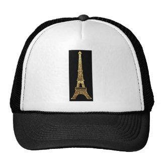 Torre Eiffel elegante francesa de Steampunk París  Gorras De Camionero