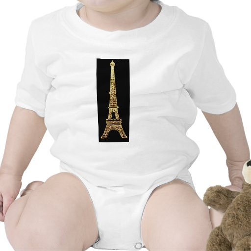 Torre Eiffel elegante francesa de Steampunk París  Camiseta