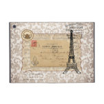 Torre Eiffel elegante lamentable del vintage de Pa iPad Mini Funda