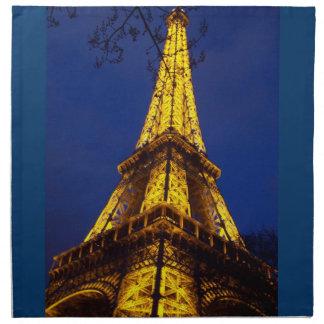 Torre Eiffel en el americano MoJo de París Francia Servilletas De Papel