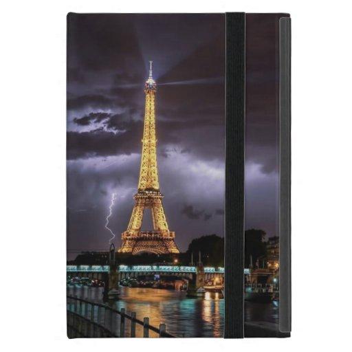 Torre Eiffel en el caso del iPad de Powis de la no iPad Mini Fundas