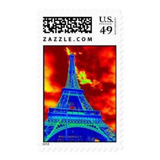 torre Eiffel en el fuego Envio