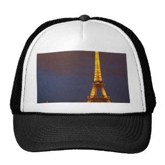 Torre Eiffel en la noche Gorros