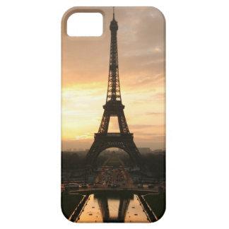 Torre Eiffel en la salida del sol del Trocadero iPhone 5 Case-Mate Fundas