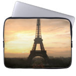 Torre Eiffel en la salida del sol del Trocadero Funda Ordendadores